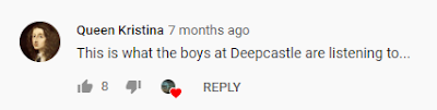 Comment from YouTube