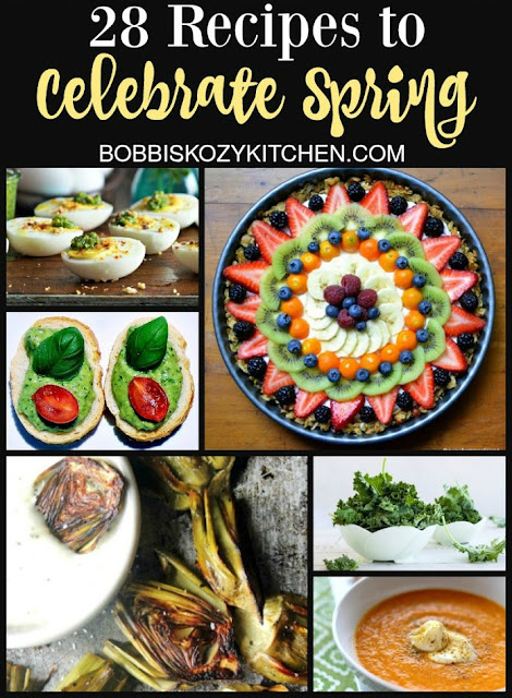 28 Recipes to Celebrate Spring Collage