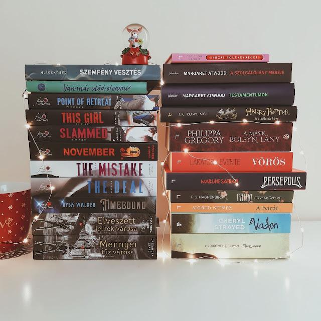 2019. novemberi beszerzések a Tekla Könyvei könyves blogon: összesen 25 új könyv novemberben