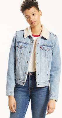 Women's Sherpa Trucker Jacket