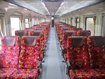 interior salah satu gerbong
