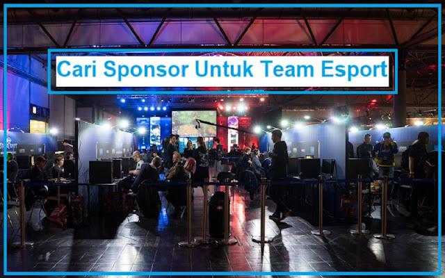 sponsor untuk team esport
