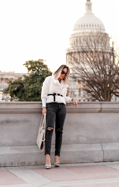 how to look chic with a teddy crop jacket
