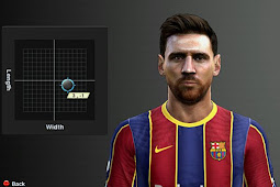 Lionel Messi New Face 2020 - PES 2013