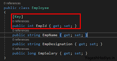 Understanding Code First Approach Of Entity Framework Core - YogeshHadiya.in