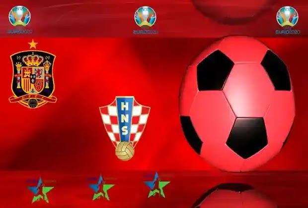 مباريات اليورو 2020,منتخب اسبانيا,منتخب كرواتيا
