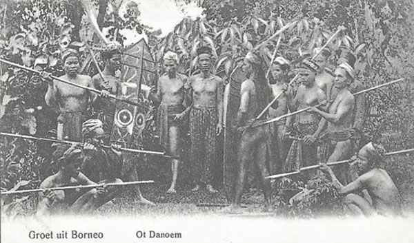Asal Mula Suku Dayak Menurut Tetek Tatum