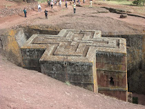 Church of St. George, Lalibela. (Note roof level equal to four deeply carved out sides)