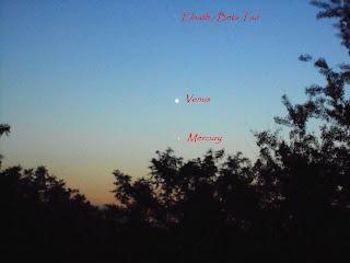 Conjunctia Venus-Mercur ,Joi 21 Mai 2020