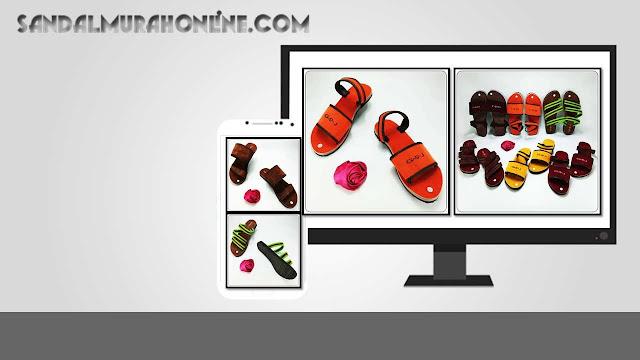 Pusat Sandal Online Termurah - Spon Talincang Wanita GSJ