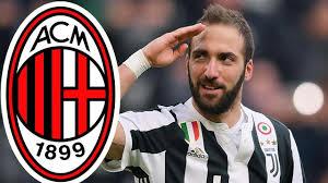 Higuain agrees loan move to AC Milan