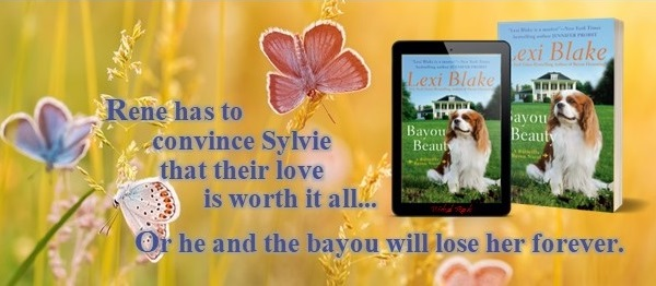 Rene has to convince Sylvie that their love is worth it all… Or he and the bayou will lose her forever.