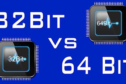 Cara Mudah Upgrade Windows 10 dari Versi 32bit ke 64bit