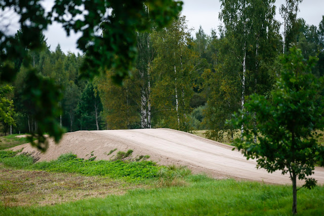 Artificial jump on Rally Estonia