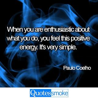 Paulo Coelho positive quote