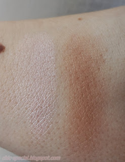 Devotee swatch, Laguna swatch