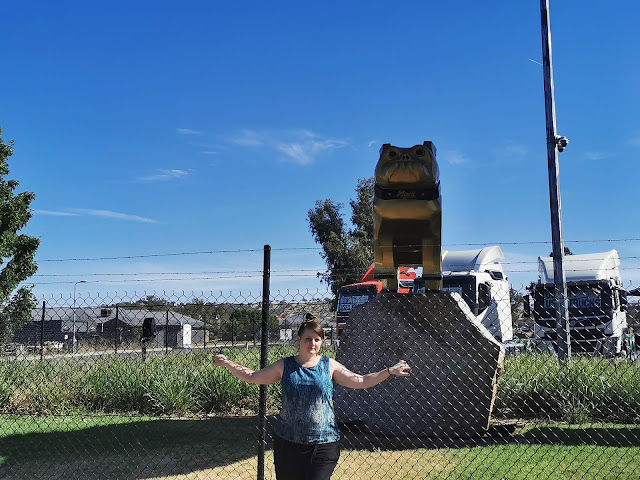 Wodonga Public Art | Bronze Bull Dog