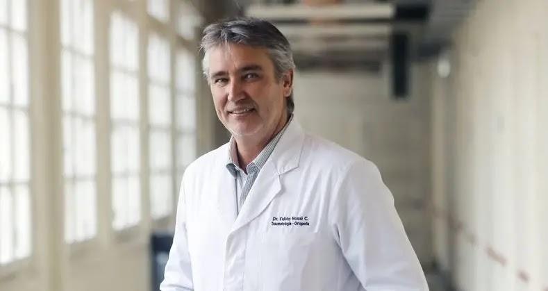 Fulvio Rossi habla de su trabajo como traumatólogo