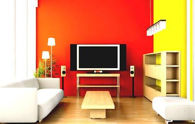 Warna Merah Cayene Kombinasi Kuning Pastel