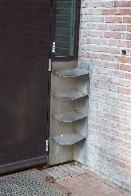 Quina da parede anti-mijo - Amsterdã - Holanda