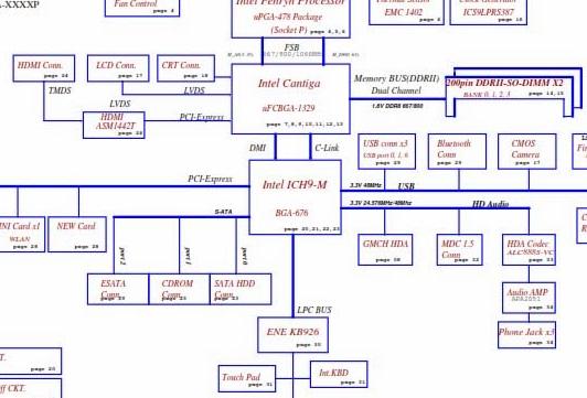 LA-5272P REV 0.1 Acer Aspire 4735z 4736z Schematic