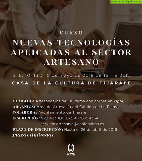El Cabildo de La Palma celebra un curso de nuevas tecnologías para el sector artesano