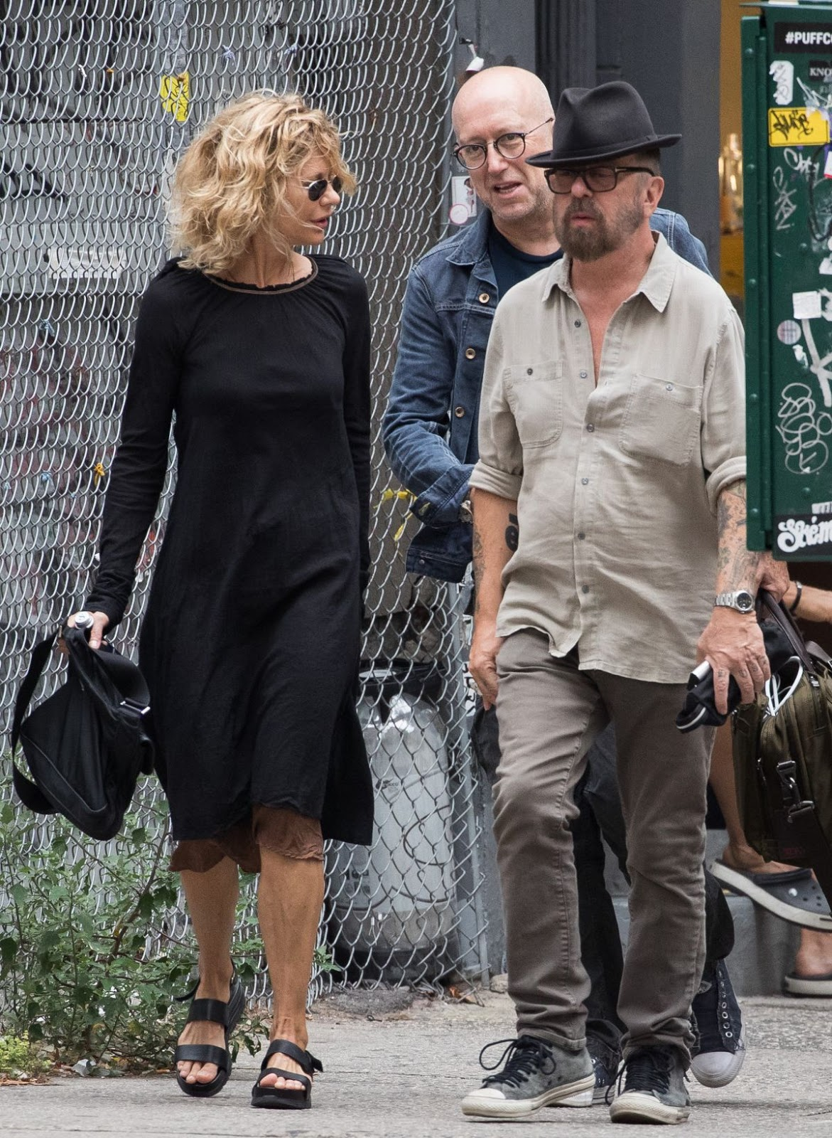 Meg Ryan Out And About In New York