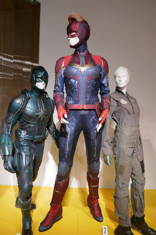 Captain Marvel movie costumes