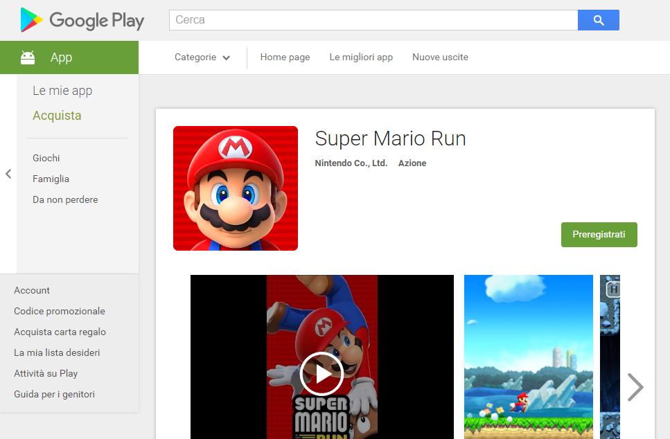 Super Mario Run in arrivo su Android HTNovo 2