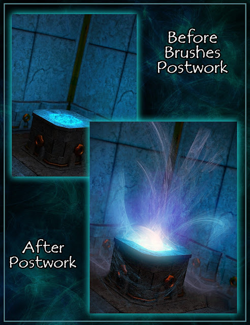 Magic Effects Brushes II for Photoshop