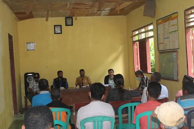 Tananua Flores Sosialisasi Program Kelautan Perikanan di Desa Maubasa kecamatan Ndori