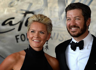 How The Relationship Started Martin Truex Jr C A C C S Wife Sherry Pollex