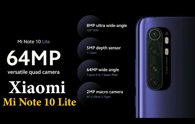 Xiaomi mi note 10 lite | تعرف على مواصفات وسعر هاتف شاومى نوت 10 لايت
