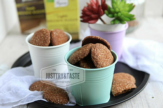 Review Ricoman Brown Sugar dan Resep Brown Sugar Ginger Cookies