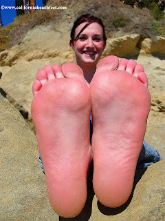 Opinion girl feet soles up close excellent idea