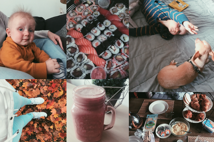 Mijn week in foto's # 7. Mooie herfst kleuren & Sushi eten.