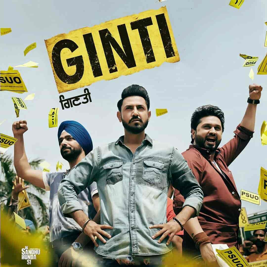 Ginti Song Images From Movie Ik Sandhu Hunda Si Gippy Grewal