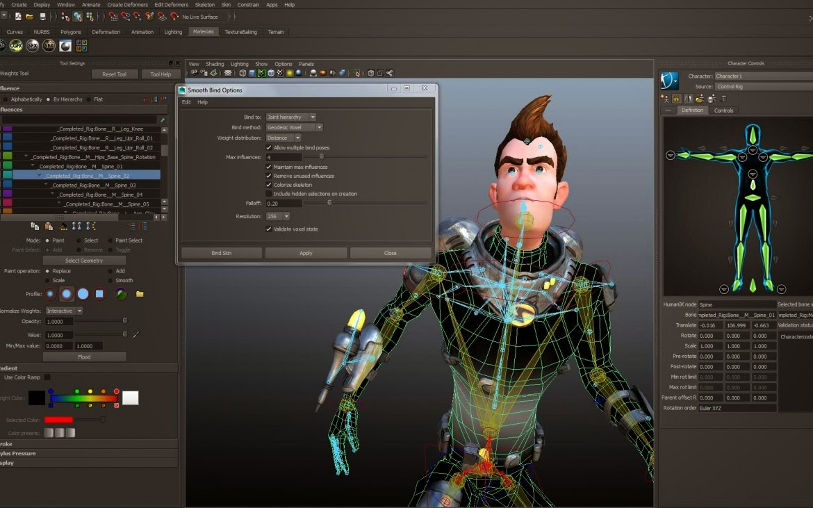 Maya for 3d animation for android free download and software.