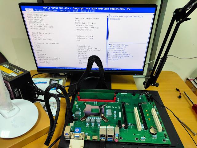 反向思維就是COOL:CPU反裝與散熱器外露 - 元得電子 Q270 ENCTEC REV.SERIES 主機板開箱測試