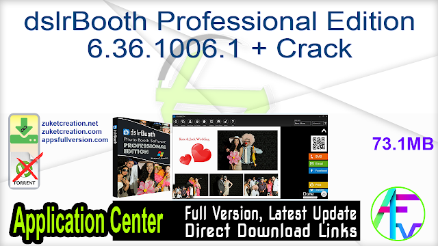dslrBooth Professional Edition 6.36.1006.1 + Crack