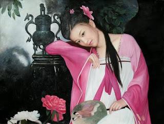 cuadros-con-mujeres-sensibilidad-y-belleza pinturas-femeninas-arte-realismo