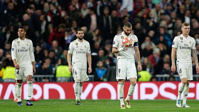 Akhir Kejayaan Real Madrid di Liga Champions