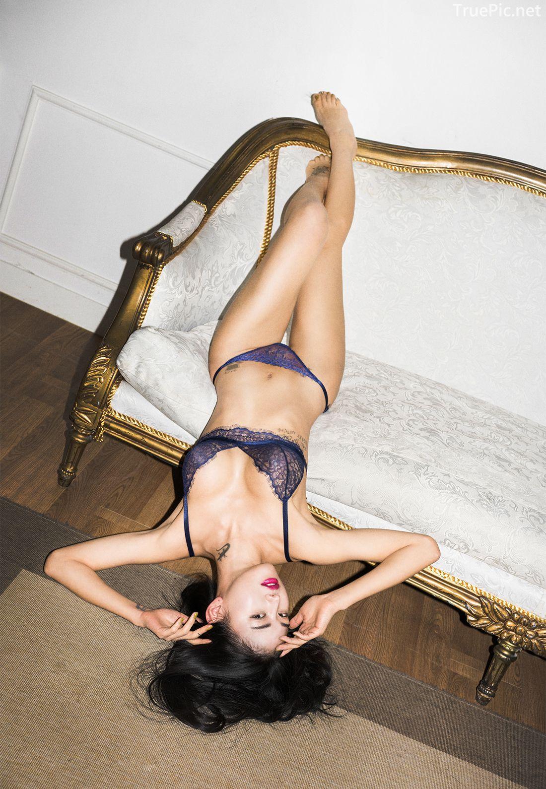 Korean Fashion Model - Baek Ye Jin - Sexy Lingerie Collection - TruePic.net - Picture 1