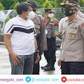 Hari Kedua, Kapolres Parepare Pantau Langsung Pelaksanaan Penyekatan Pelarangan Mudik
