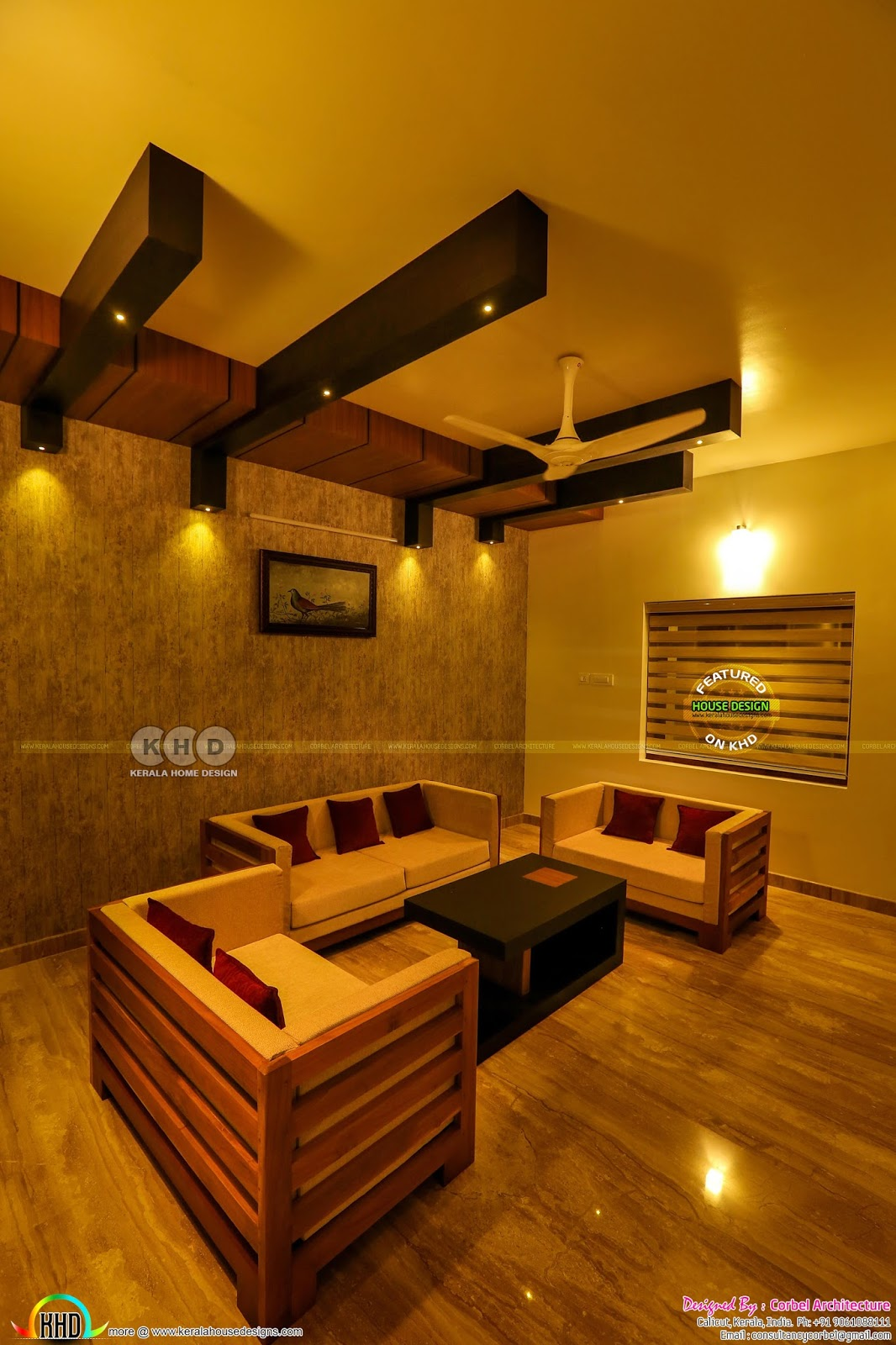 Finished Interior Designs In Kerala: Interior And Exterior Photos Of Finished House In Kerala