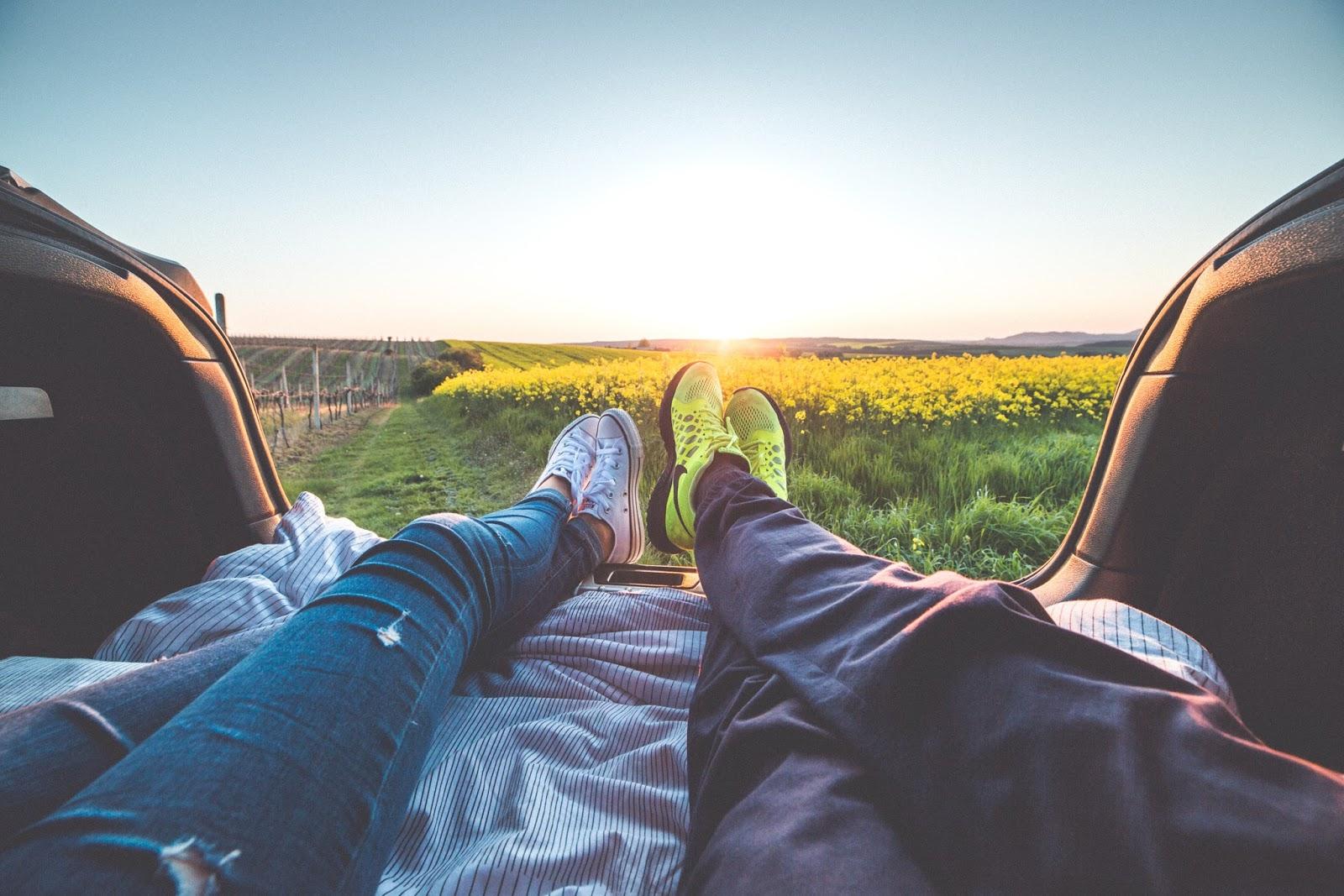 dorosły związek i spędzanie razem czasu