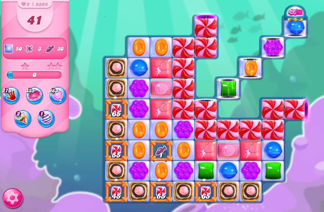 Candy Crush Saga level 8394
