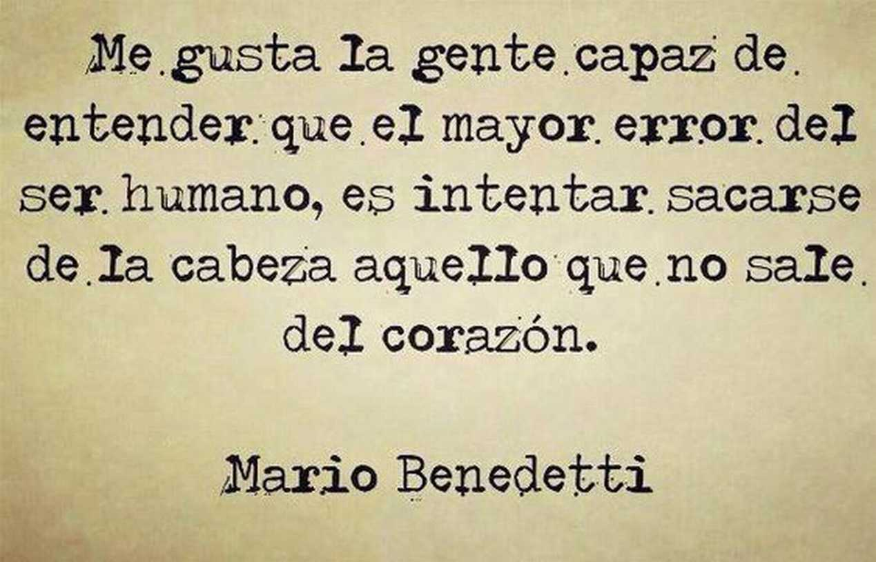 Amor Es Frases: The Nicest Pictures: Mario Benedetti