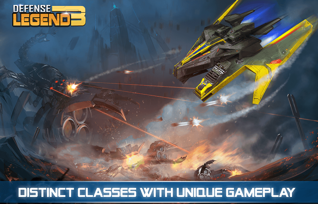 Defense Legend 3: Future War v 2.5.6 apk mod DINHEIRO INFINITO