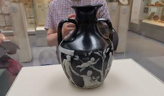 British Museum, the Portland Vase.